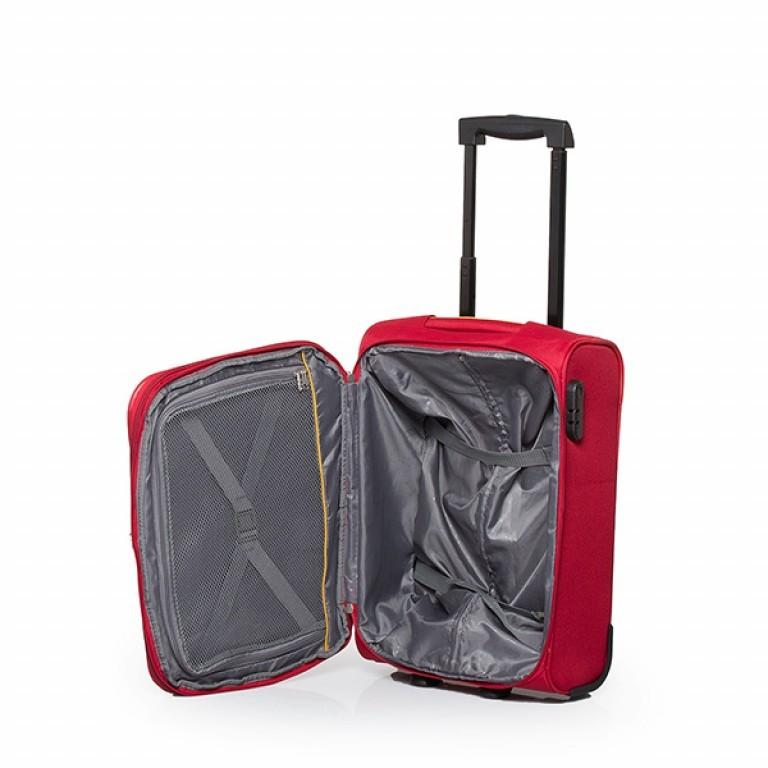 Travelite Flair 2-Rad Trolley 51cm Rot, Farbe: rot/weinrot, Marke: Travelite, Abmessungen in cm: 36.0x51.0x24.0, Bild 4 von 6