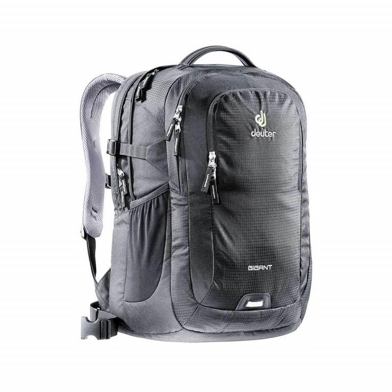 Deuter Gigant Laptoprucksack Black, Farbe: schwarz, Marke: Deuter, Abmessungen in cm: 35.0x47.0x27.0, Bild 1 von 2