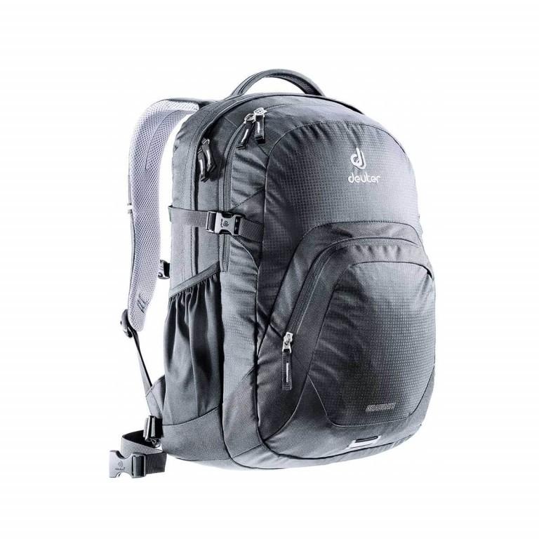 Deuter Graduate Rucksack 28L Black, Farbe: schwarz, Marke: Deuter, Abmessungen in cm: 33.0x48.0x23.0, Bild 1 von 2