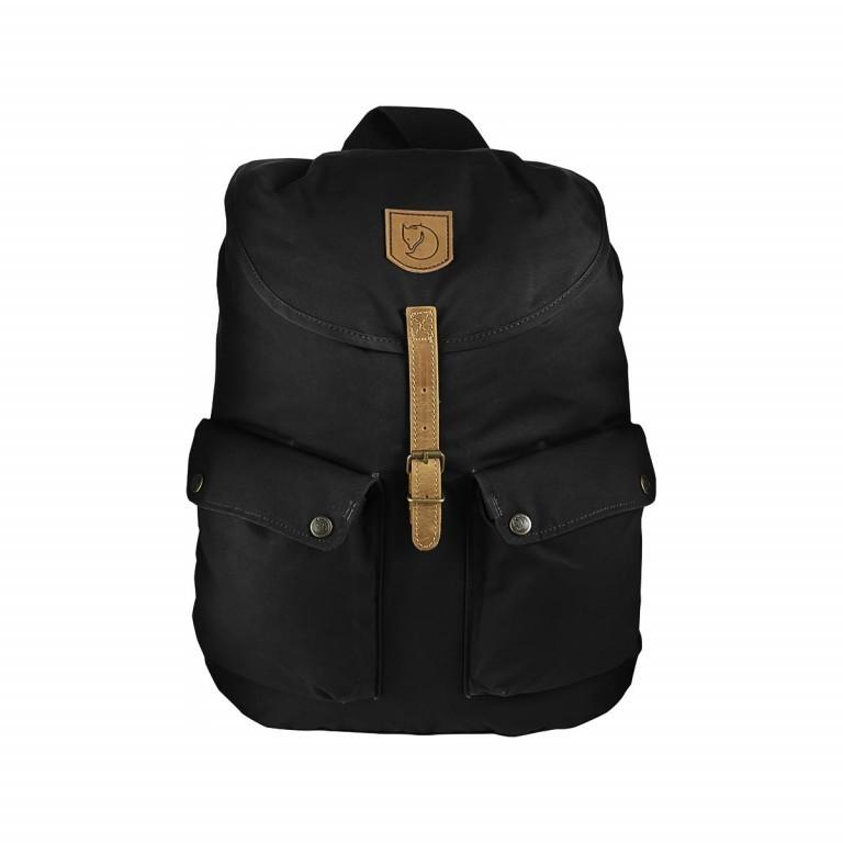 Fjällräven Greenland Backpack Schwarz, Farbe: schwarz, Marke: Fjällräven, EAN: 7323450066598, Abmessungen in cm: 32.0x45.0x15.0, Bild 1 von 1