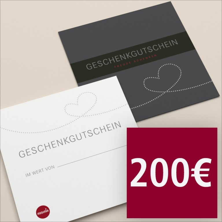 Gutschein per Post 200 €, Marke: Hausfelder, Bild 1 von 1