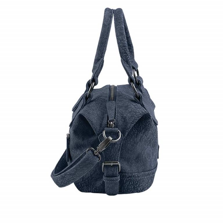 Fritzi aus Preußen Kuba Hanni Shopper Synthetik Blue Jeans, Farbe: blau/petrol, Marke: Fritzi aus Preußen, Abmessungen in cm: 26.0x21.0x11.0, Bild 2 von 2