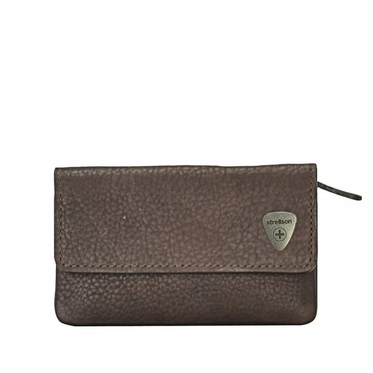 Strellson Harrison KeyCase F Leder Dark-Brown, Farbe: braun, Marke: Strellson, EAN: 4053533015634, Abmessungen in cm: 11.5x6.5x3.0, Bild 1 von 1