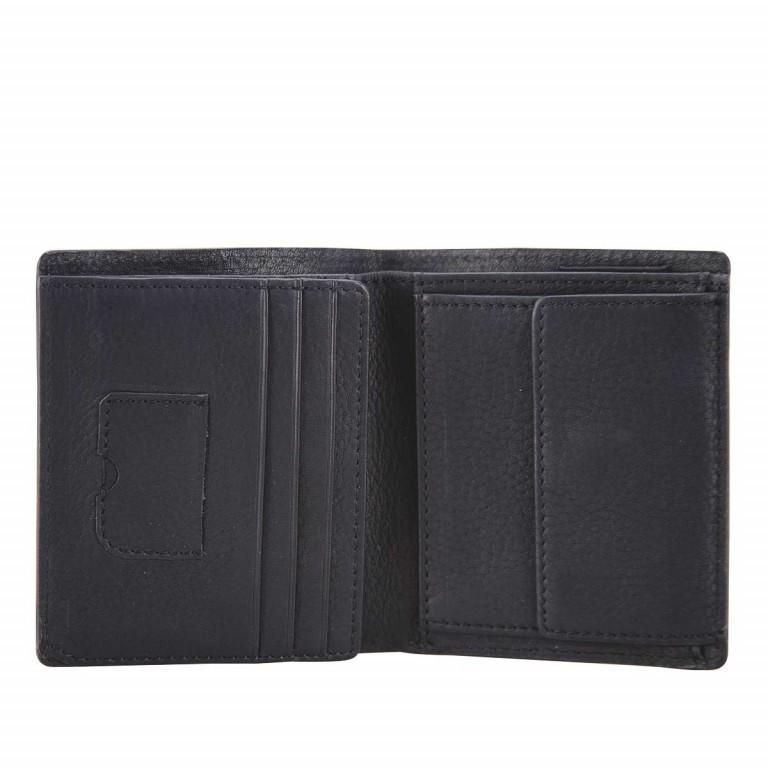 Strellson Harrison BillFold V8 Kombibörse Leder Schwarz, Farbe: schwarz, Marke: Strellson, EAN: 4053533015542, Abmessungen in cm: 9.5x12.0x2.0, Bild 2 von 2
