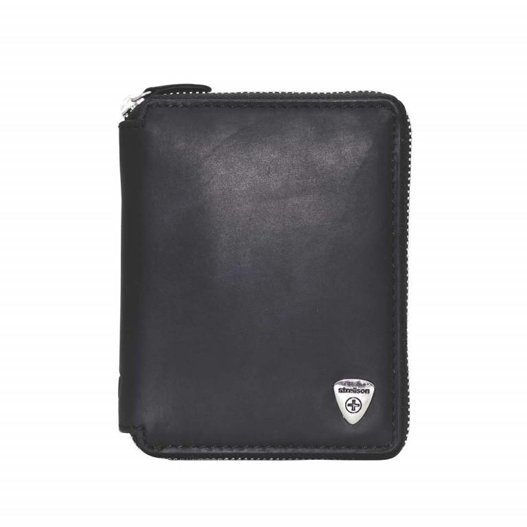 Strellson Harrison BillFold Z6 Leder Black, Farbe: schwarz, Manufacturer: Strellson, EAN: 4053533200733, Dimensions (cm): 10.5x13.0x2.0, Image 1 of 2