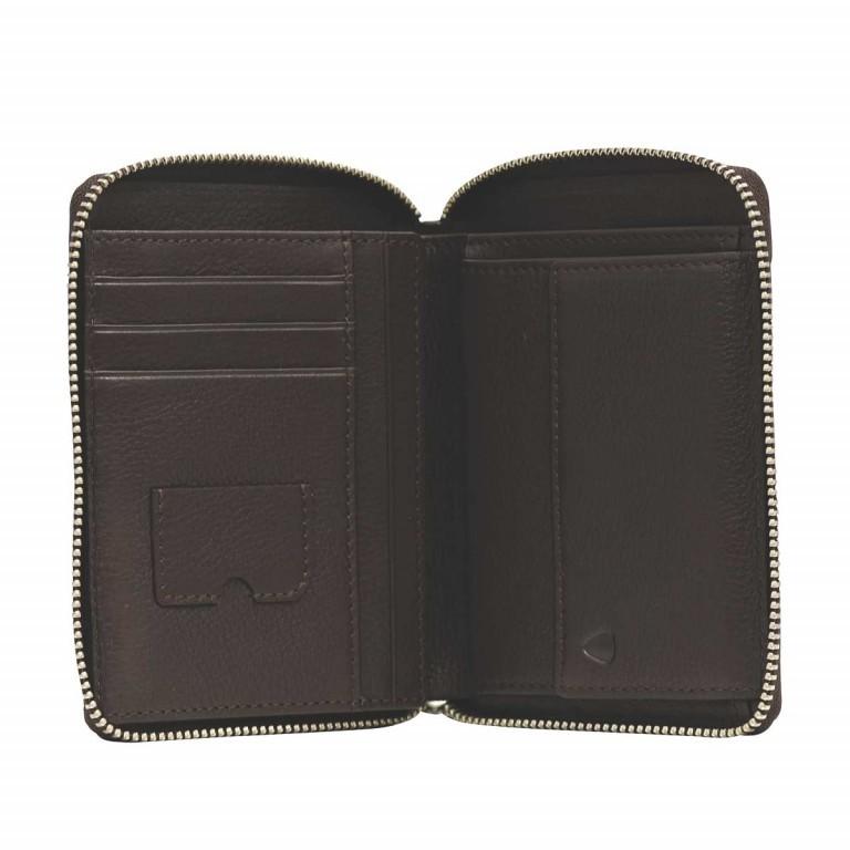 Strellson Harrison BillFold Z6 Leder Dark Brown, Farbe: braun, Marke: Strellson, EAN: 4053533200726, Abmessungen in cm: 10.5x13.0x2.0, Bild 2 von 2