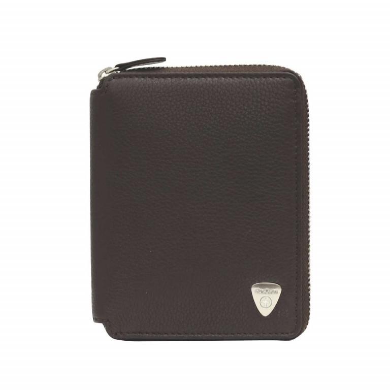 Strellson Harrison BillFold Z6 Leder Dark Brown, Farbe: braun, Marke: Strellson, EAN: 4053533200726, Abmessungen in cm: 10.5x13.0x2.0, Bild 1 von 2