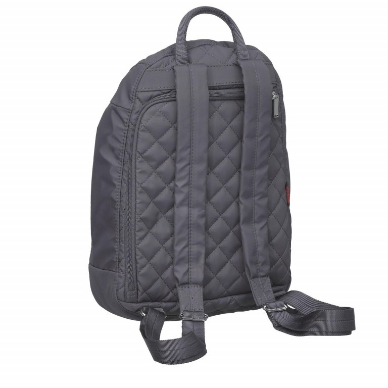 Hedgren Diamond Touch Pat Backpack Periscope, Farbe: grau, Marke: Hedgren, Abmessungen in cm: 24.5x35.0x9.0, Bild 3 von 3