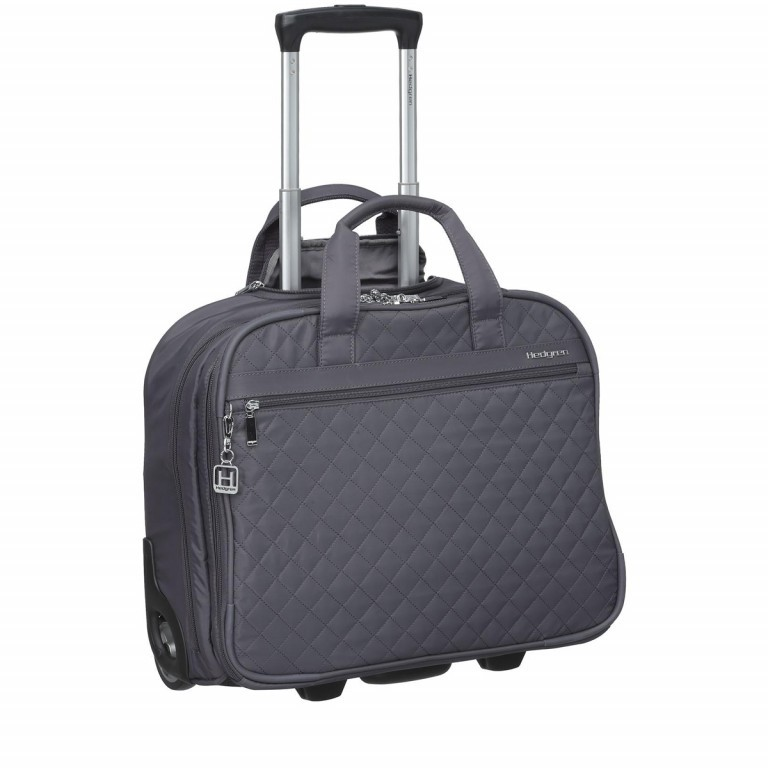 "Hedgren Diamond Touch Cindy Business Trolley 15.6"" Periscope, Farbe: grau, Marke: Hedgren, Abmessungen in cm: 44.0x35.0x18.0, Bild 1 von 4"