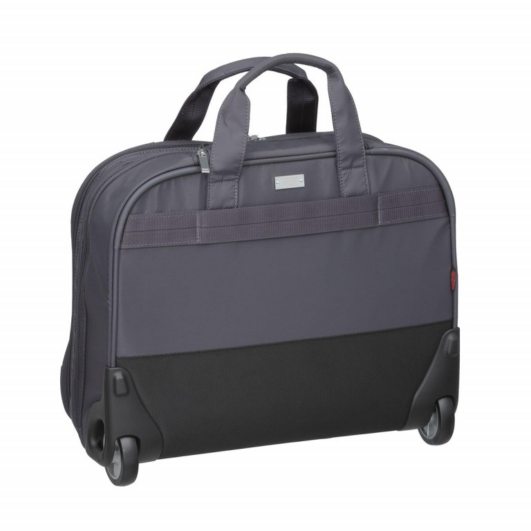 "Hedgren Diamond Touch Cindy Business Trolley 15.6"" Periscope, Farbe: grau, Marke: Hedgren, Abmessungen in cm: 44.0x35.0x18.0, Bild 3 von 4"