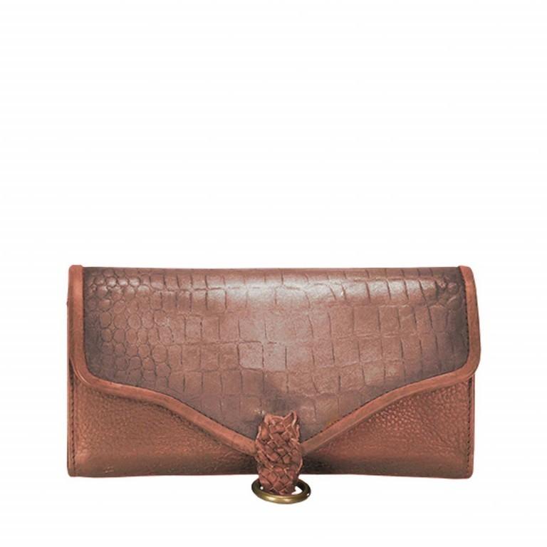 Desiderius Mons Hemma Damenbörse Leder Copper, Farbe: cognac, Marke: Desiderius, Abmessungen in cm: 19.0x10.0x2.0, Bild 1 von 2