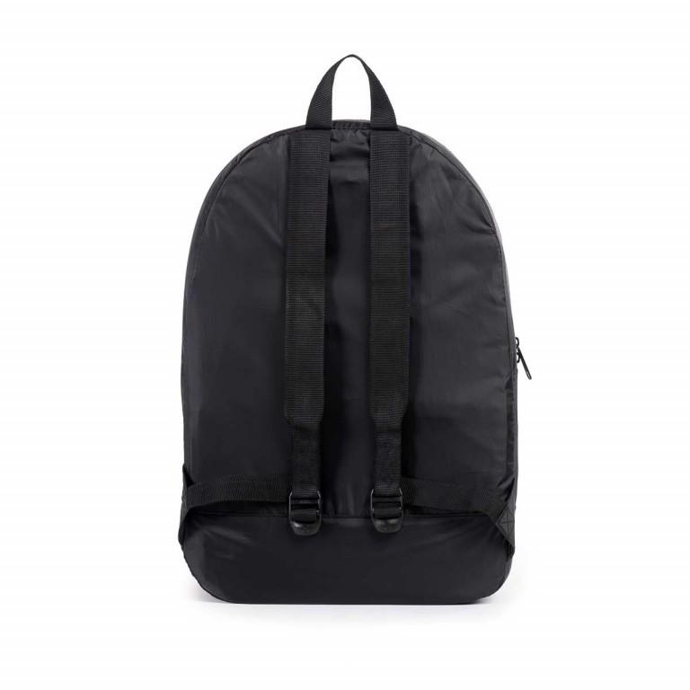Herschel Rucksack Packable Daypack Black, Farbe: schwarz, Manufacturer: Herschel, EAN: 828432012107, Dimensions (cm): 32.0x45.0x14.0, Image 2 of 5