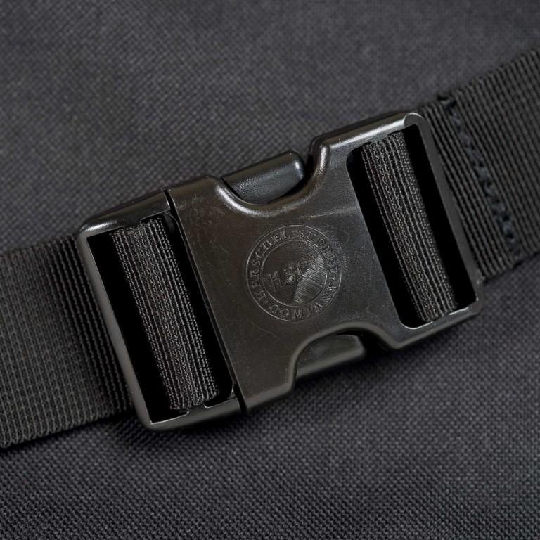 Herschel Gürteltasche Seventeen Black, Farbe: schwarz, Marke: Herschel, EAN: 828432028665, Abmessungen in cm: 19.0x17.5x6.0, Bild 3 von 4