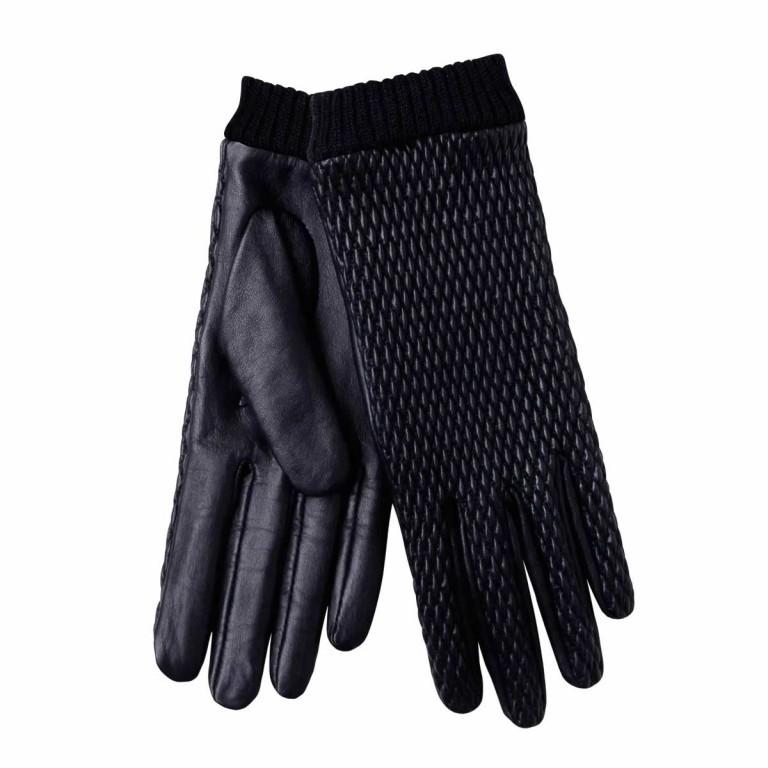 UNMADE Quilted Leather Glove Damenhandschuh 7,5 Schwarz, Farbe: schwarz, Marke: Unmade, Bild 1 von 1