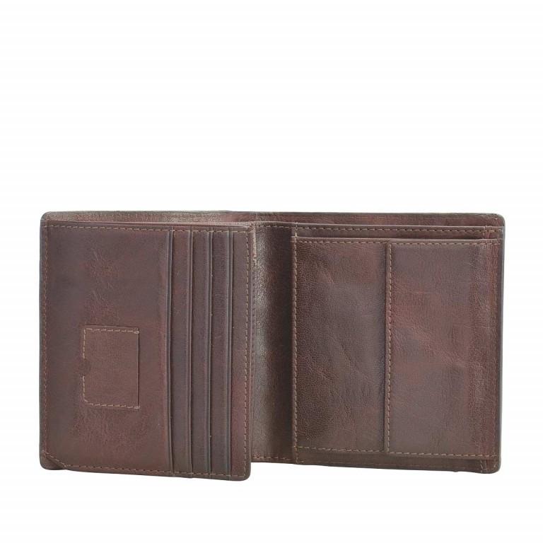 Strellson Jefferson BillFold Q6 Geldbörse Leder Dark-Brown, Farbe: braun, Marke: Strellson, EAN: 4053533141708, Abmessungen in cm: 9.0x10.5x2.0, Bild 2 von 2