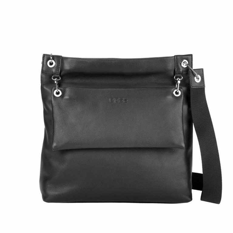 BREE Kaana 7 Crossbag Schwarz, Farbe: schwarz, Marke: Bree, Abmessungen in cm: 32.0x29.0x8.5, Bild 1 von 4
