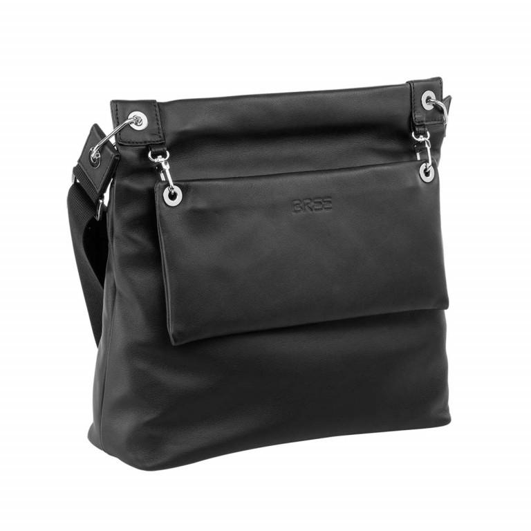 BREE Kaana 7 Crossbag Schwarz, Farbe: schwarz, Marke: Bree, Abmessungen in cm: 32.0x29.0x8.5, Bild 2 von 4