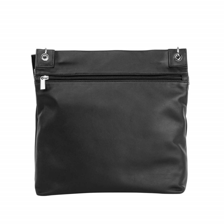 BREE Kaana 7 Crossbag Schwarz, Farbe: schwarz, Marke: Bree, Abmessungen in cm: 32.0x29.0x8.5, Bild 4 von 4
