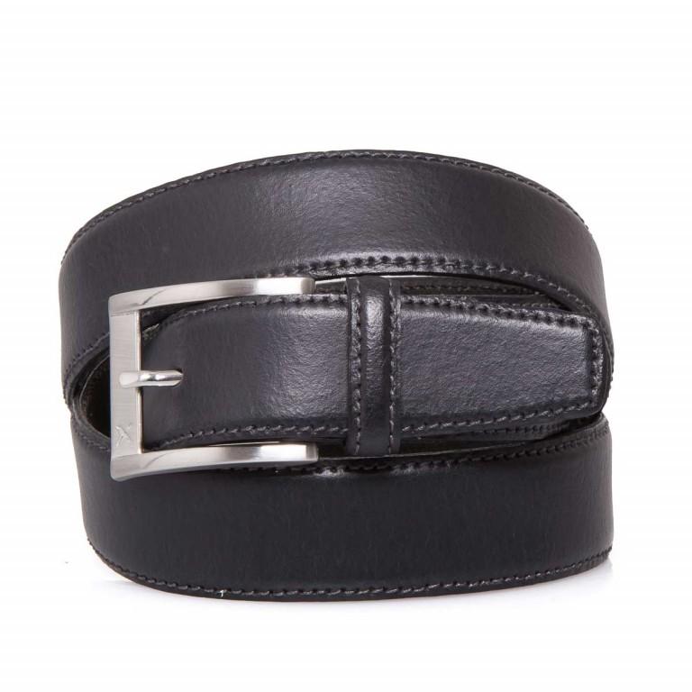 BRAX Gürtel 50-0140 100cm Schwarz, Farbe: schwarz, Marke: Brax, EAN: 4037119339420, Bild 1 von 1