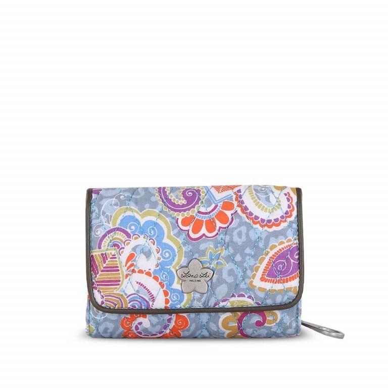 Lana Lei Medium Wallet Blue Sky, Farbe: blau/petrol, Marke: Lana Lei, Abmessungen in cm: 14.5x10.5x4.5, Bild 1 von 1