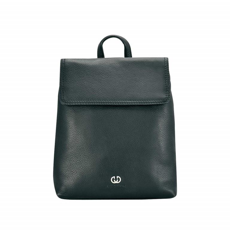 Gerry Weber Los Angeles Backpack Schwarz, Farbe: schwarz, Marke: Gerry Weber, EAN: 4006053954501, Abmessungen in cm: 22.5x25.5x9.0, Bild 1 von 1