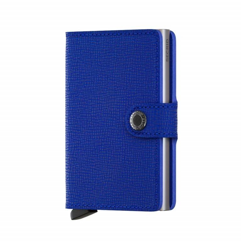 SECRID Miniwallet Crisple Cobalt, Farbe: blau/petrol, Marke: Secrid, Abmessungen in cm: 6.8x10.2x2.1, Bild 1 von 3
