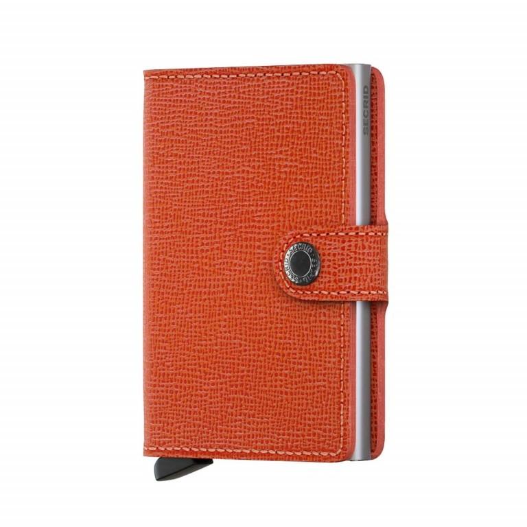 SECRID Miniwallet Crisple Orange, Farbe: orange, Marke: Secrid, Abmessungen in cm: 6.8x10.2x2.1, Bild 1 von 3
