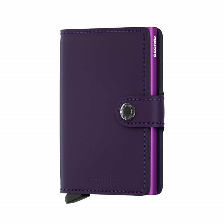SECRID Miniwallet Matte Purple, Farbe: flieder/lila, Manufacturer: Secrid, Dimensions (cm): 6.8x10.2x2.1, Image 1 of 3