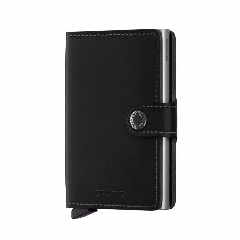 SECRID Miniwallet Black, Farbe: schwarz, Marke: Secrid, Abmessungen in cm: 6.8x10.2x2.1, Bild 1 von 3