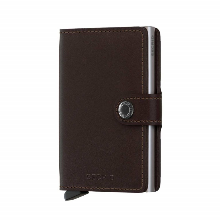 SECRID Miniwallet Original Brown, Farbe: braun, Manufacturer: Secrid, Dimensions (cm): 6.8x10.2x2.1, Image 1 of 3