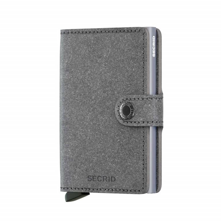 SECRID Miniwallet Recycled Stone, Farbe: grau, Marke: Secrid, Abmessungen in cm: 6.8x10.2x2.1, Bild 1 von 3
