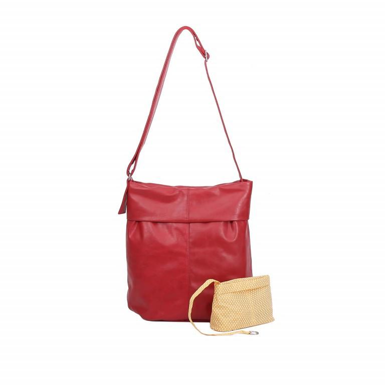 ZWEI MADEMOISELLE M14 Vegan RED, Farbe: rot/weinrot, Marke: Zwei, EAN: 4250257902176, Abmessungen in cm: 38.0x39.0x11.0, Bild 1 von 1