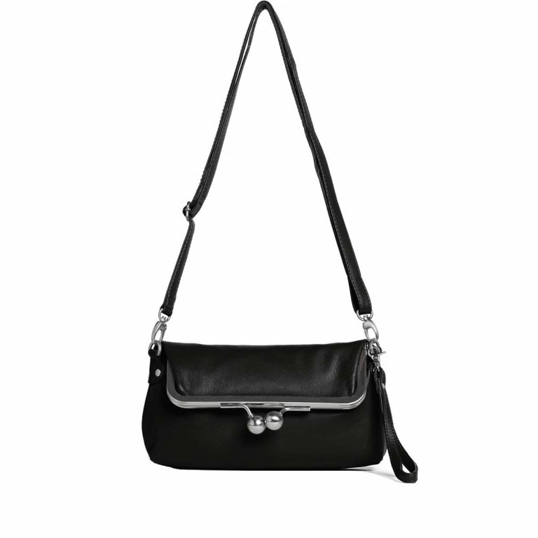 Sticks and Stones Monaco Bag Goat Osaka Leder Black, Farbe: schwarz, Marke: Sticks and Stones, Bild 2 von 2