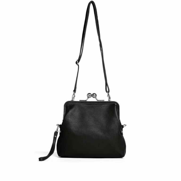 Sticks and Stones Monaco Bag Goat Osaka Leder Black, Farbe: schwarz, Marke: Sticks and Stones, Bild 1 von 2