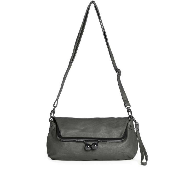 Sticks and Stones Monaco Bag - Buff Washed Leder Light Grey, Farbe: grau, Marke: Sticks and Stones, Bild 2 von 2