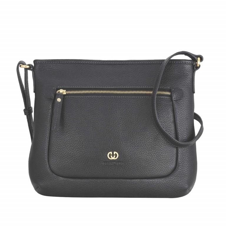 Gerry Weber Napoli Shoulder Bag L Leder Schwarz, Farbe: schwarz, Marke: Gerry Weber, EAN: 4053533207817, Abmessungen in cm: 27.0x26.0x1.0, Bild 1 von 1