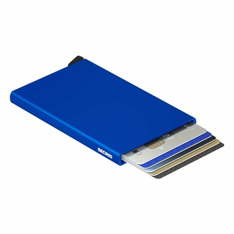 SECRID Cardprotector Blue, Farbe: blau/petrol, Marke: Secrid, Abmessungen in cm: 6.3x10.2x0.8, Bild 1 von 3
