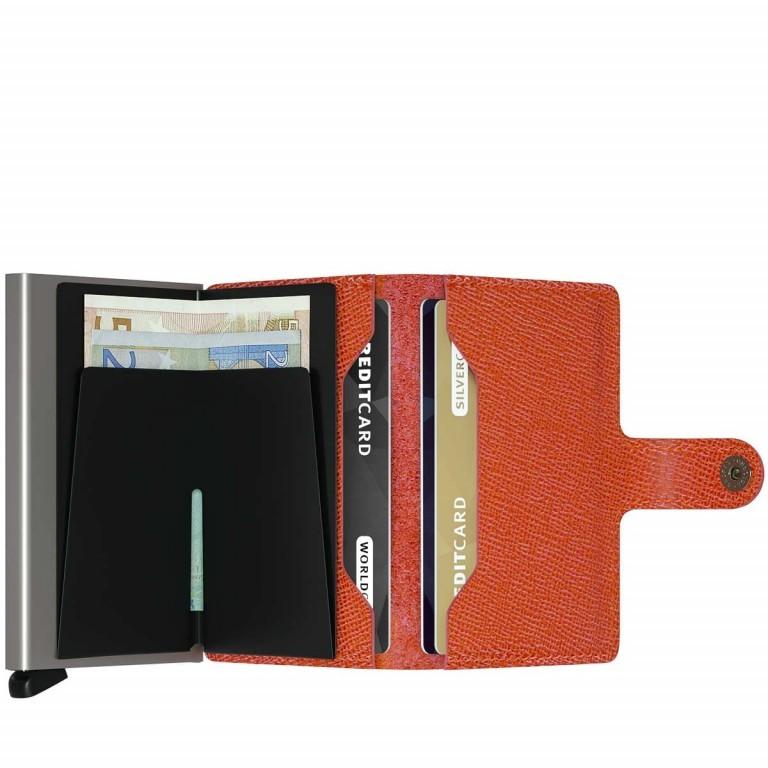 SECRID Miniwallet Crisple Orange, Farbe: orange, Marke: Secrid, Abmessungen in cm: 6.8x10.2x2.1, Bild 2 von 3