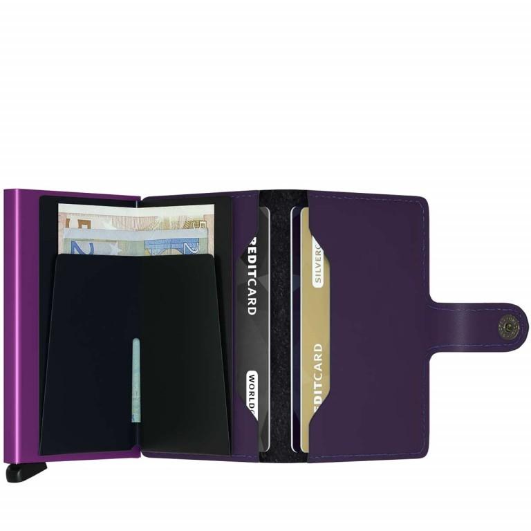 SECRID Miniwallet Matte Purple, Farbe: flieder/lila, Marke: Secrid, Abmessungen in cm: 6.8x10.2x2.1, Bild 2 von 3