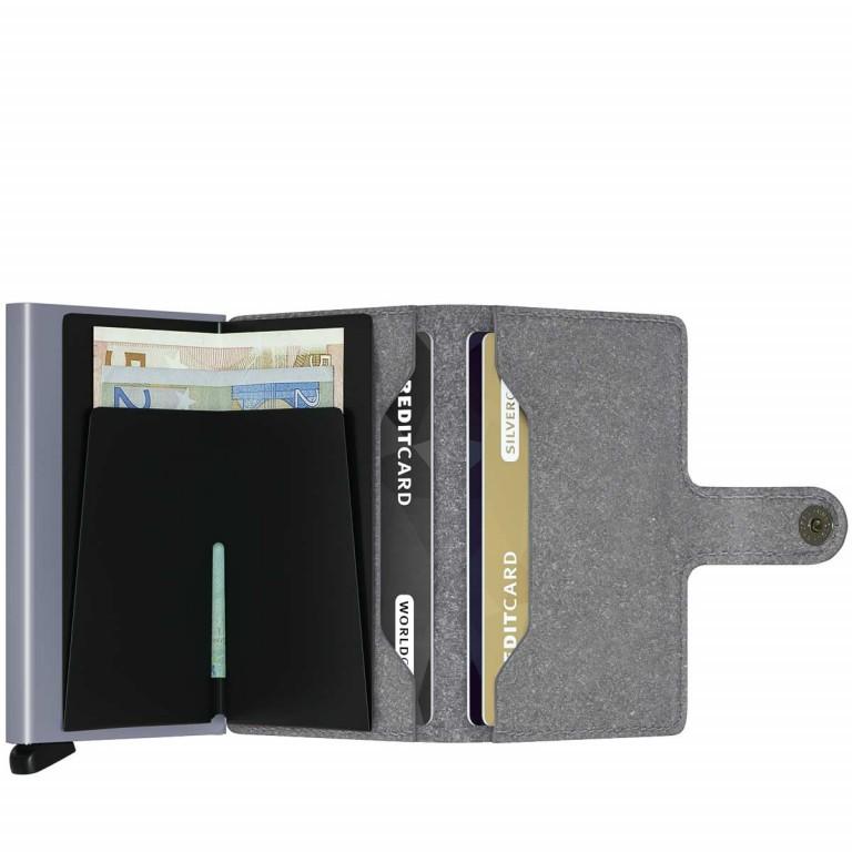 SECRID Miniwallet Recycled Stone, Farbe: grau, Marke: Secrid, Abmessungen in cm: 6.8x10.2x2.1, Bild 2 von 3