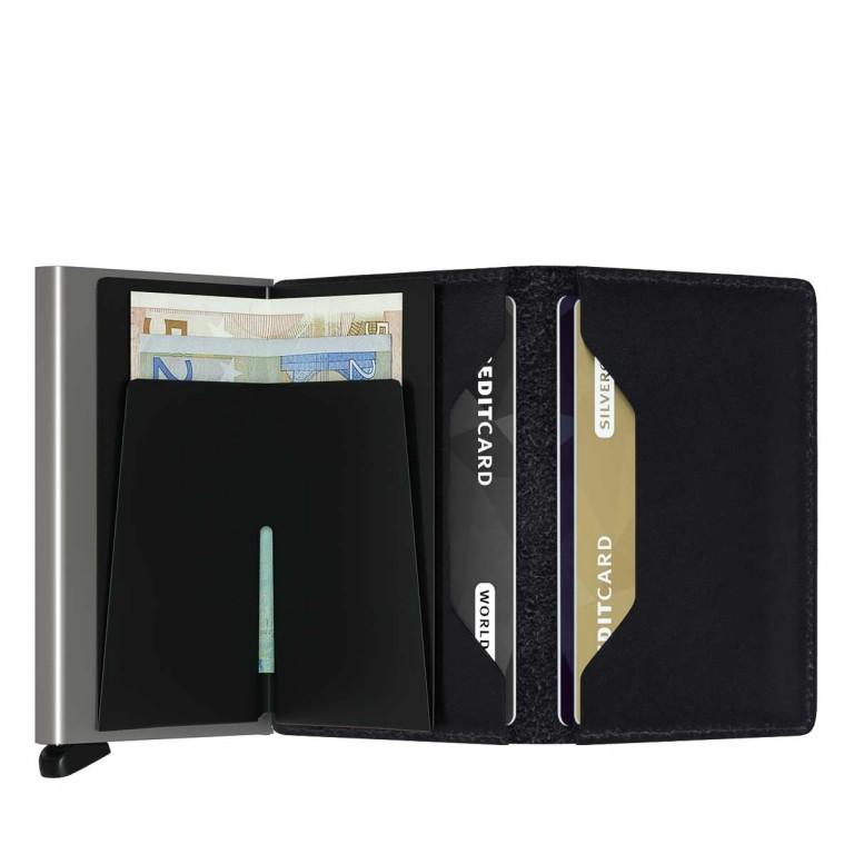 SECRID Slimwallet Original Black, Farbe: schwarz, Marke: Secrid, Abmessungen in cm: 6.8x10.2x1.6, Bild 2 von 3