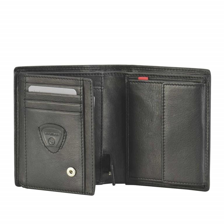Strellson Oxford-Circus Billfold V8 Geldbörse Leder Black, Farbe: schwarz, Marke: Strellson, EAN: 4006053046626, Abmessungen in cm: 10.5x12.5x2.0, Bild 2 von 2