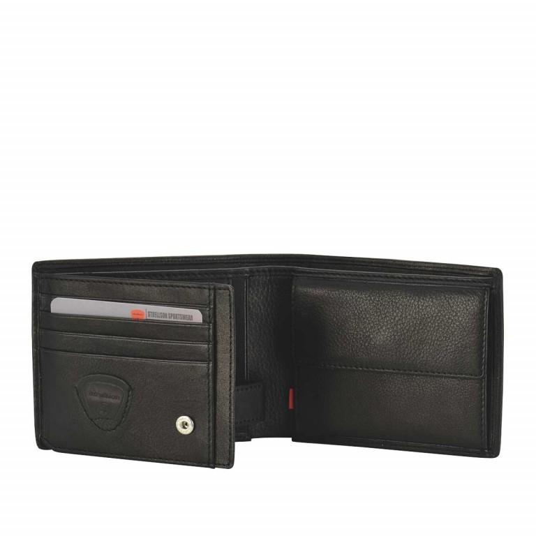 Strellson Oxford-Circus Billfold H7 Geldbörse Leder Black, Farbe: schwarz, Marke: Strellson, EAN: 4006053046572, Abmessungen in cm: 12.5x9.5x2.0, Bild 2 von 2