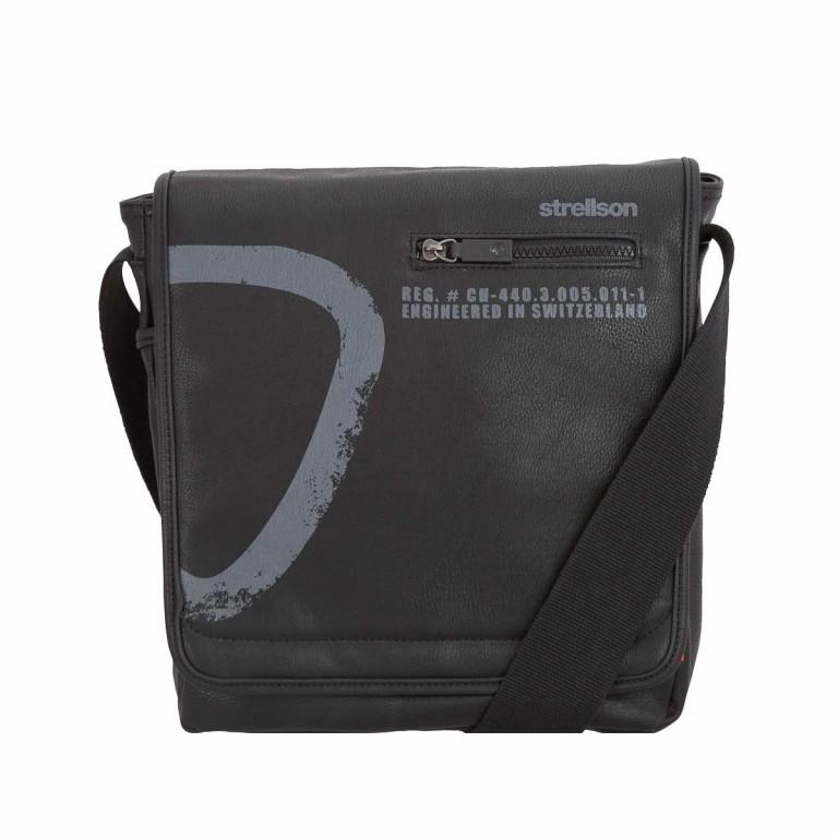 Strellson Paddington Messenger MV Black, Farbe: schwarz, Marke: Strellson, EAN: 4053533065219, Abmessungen in cm: 27.0x29.0x9.0, Bild 1 von 1