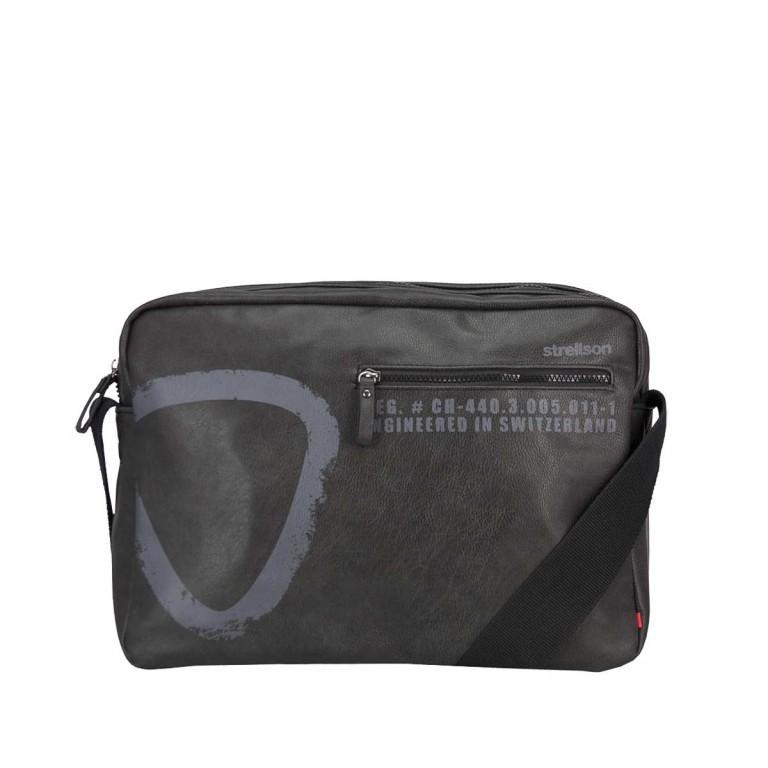 strellson Paddington Shoulderbag MH Black, Farbe: schwarz, Marke: Strellson, EAN: 4053533065257, Abmessungen in cm: 38.0x28.0x9.0, Bild 1 von 2