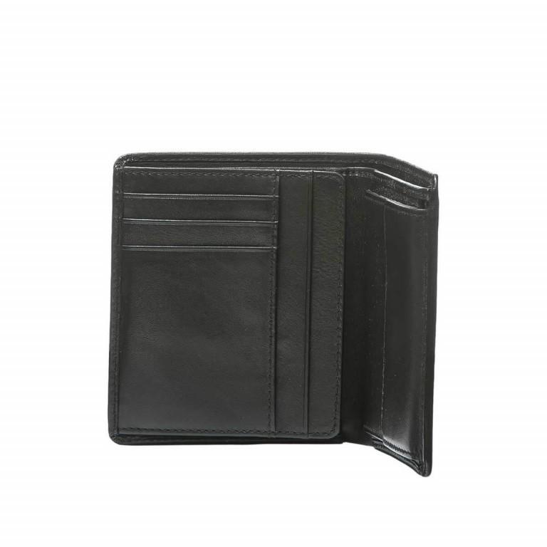 BREE Pocket 113 Kombibörse Leder Schwarz, Farbe: schwarz, Marke: Bree, Abmessungen in cm: 11.0x12.0x2.0, Bild 2 von 2