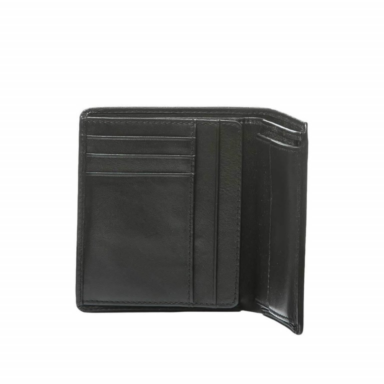 BREE Pocket 113 Kombibörse Leder Schwarz, Farbe: schwarz, Manufacturer: Bree, Dimensions (cm): 11.0x12.0x2.0, Image 2 of 2