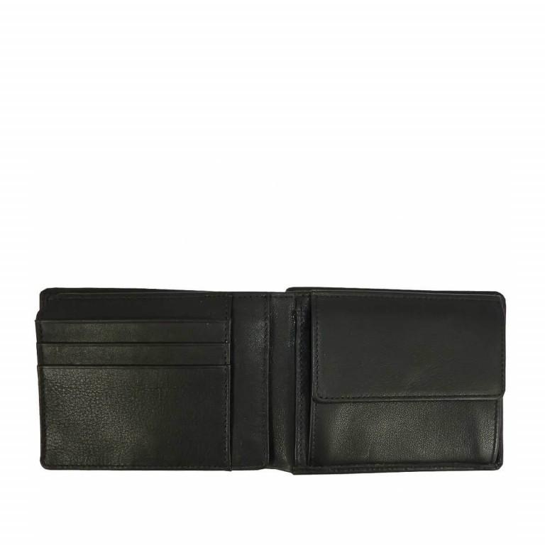 BREE Pocket 114 Scheintasche Leder Schwarz, Farbe: schwarz, Marke: Bree, Abmessungen in cm: 12.5x9.5x2.5, Bild 2 von 2