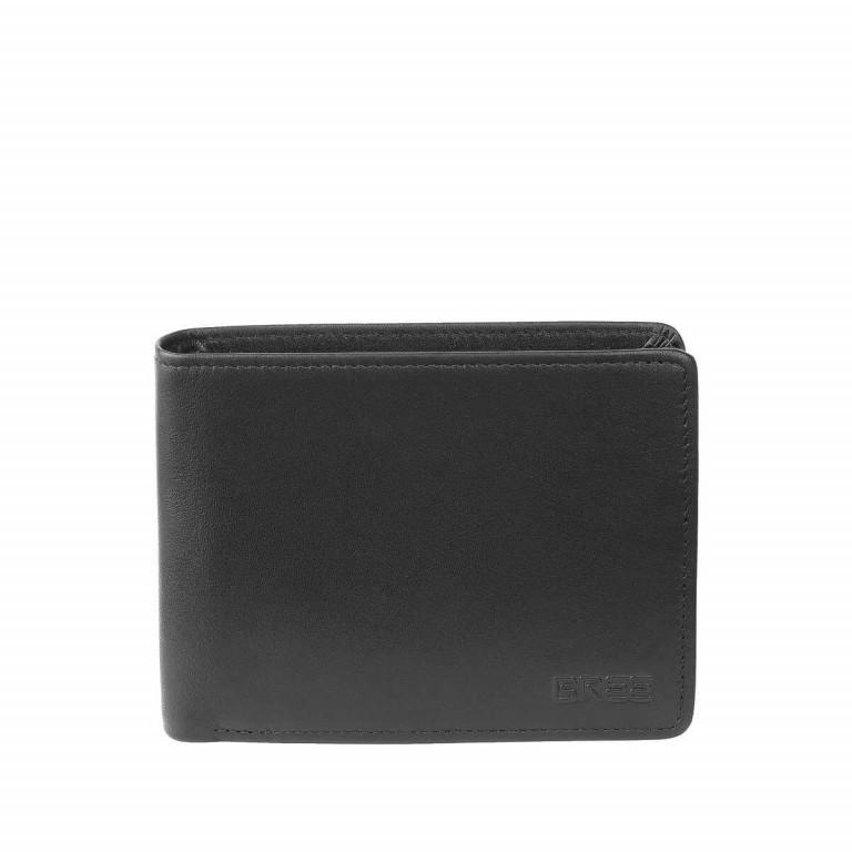 BREE Pocket 114 Scheintasche Leder Schwarz, Farbe: schwarz, Marke: Bree, Abmessungen in cm: 12.5x9.5x2.5, Bild 1 von 2