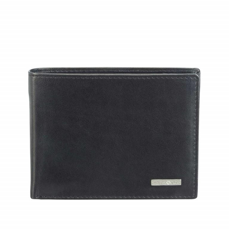 Samsonite S-Derry 57645 Scheintasche Black, Farbe: schwarz, Marke: Samsonite, Abmessungen in cm: 11.5x9.0x2.0, Bild 1 von 3